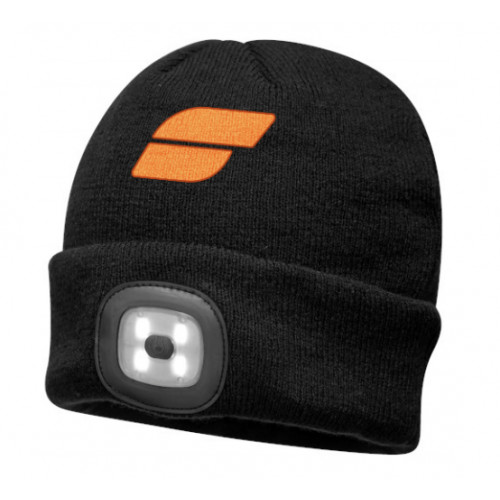 SARTRA® BLACK Beanie LED Head Light USB Rechargeable