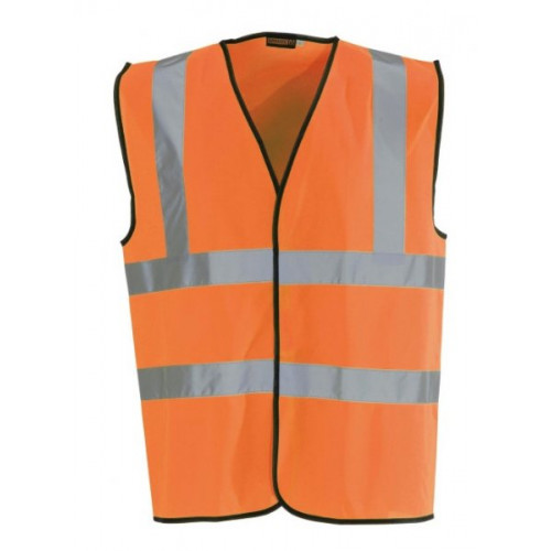 Orange Hi-Vis Waistcoat- Small
