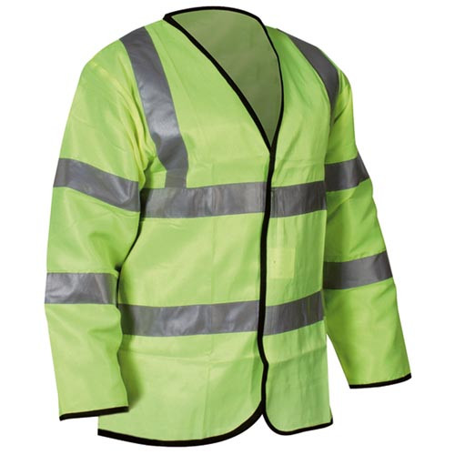 Hi-Vis Long Sleeved Waistcoat X Large Product Image- Landscape Supply Company