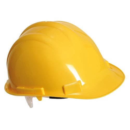 Safety Helmet - Yellow Product Image- Landscape Supply Company