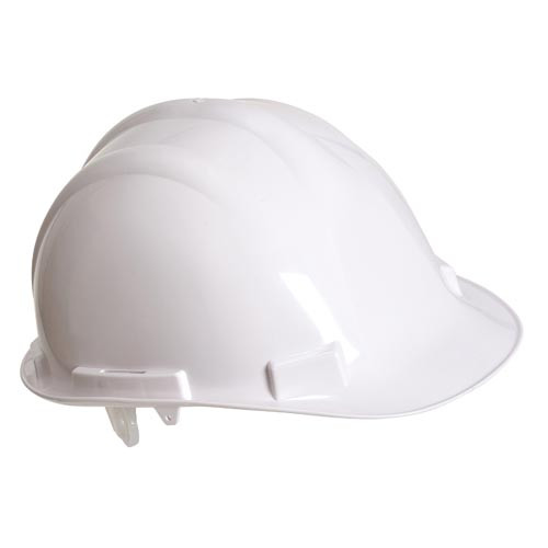 Safety Helmet - White Product Image- Landscape Supply Company