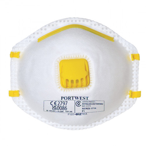 Betafit®  Pro Valved Dust Mask FFP1 (10) Product Image- Landscape Supply Company