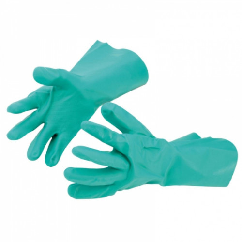 Nitrile FLOCKLINED Gauntlet, X Large (10) Product Image- Landscape Supply Company