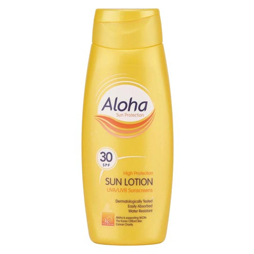 Aloha Sunscreen SPF30, 250ml Product Image- Landscape Supply Company
