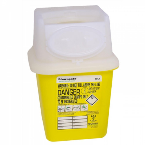 Sharpsafe Bin 4 ltr Product Image- Landscape Supply Company