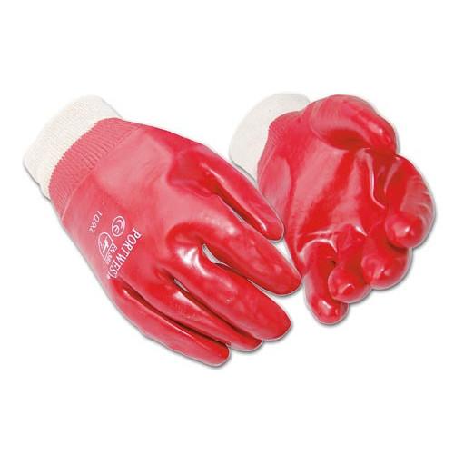 PVC Knitwrist Gloves- X Large (10)