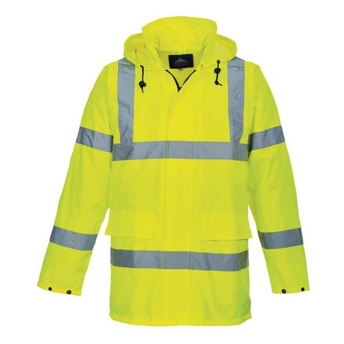 Waterproof Hi-Vis Jacket, non-lined, XX Large Product Image- Landscape Supply Company