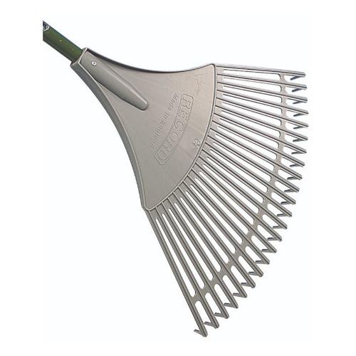 Bulldog Evergreen Plastic Fan Rake 23 Tine Product Image- Landscape Supply Company