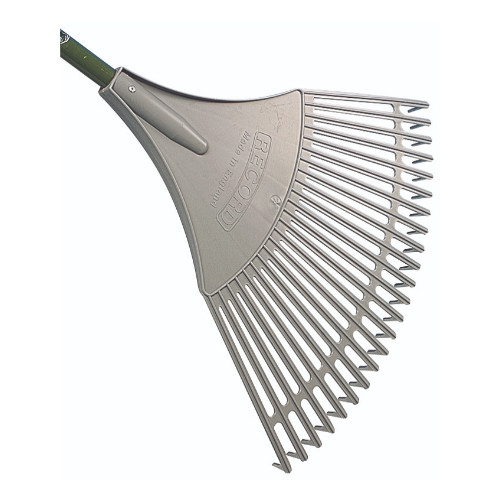 Bulldog Evergreen Plastic Fan Rake 23 Tine Product Image- Landscape Supply Company