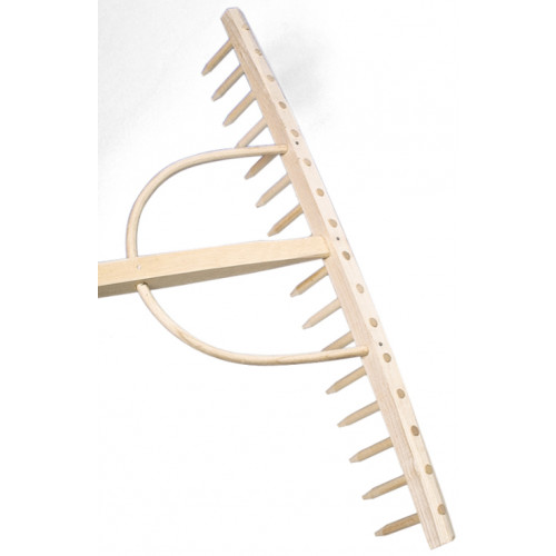 Bulldog Wooden Hay Rake 16 Tine Product Image- Landscape Supply Company