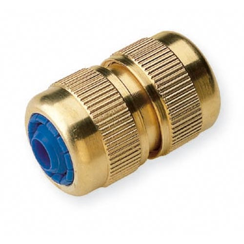 """Brass Hose Repairer ¾""""/19mm Product Image- Landscape Supply Company"""