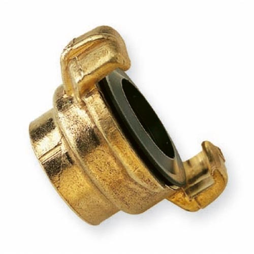"Brass Quick Coupling with Female BSP Thread 1""/25mm Product Image- Landscape Supply Company"