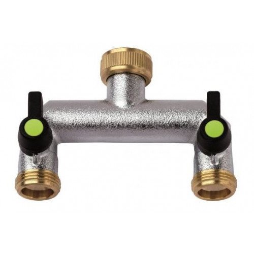 Tap Connector- 2 Way c/w Tap Product Image- Landscape Supply Company