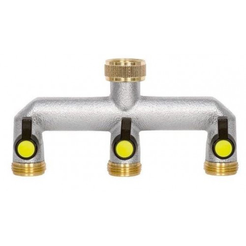 Tap Connector- 3 Way c/w Tap Product Image- Landscape Supply Company