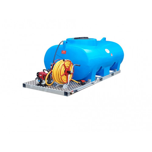 """Skid Mounted Watering Unit, 1"""" Water Pump, 700 litre"""