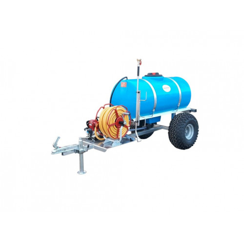 """Trailer Watering Unit- Site Tow, 1"""" Water Pump, 500 litre"""