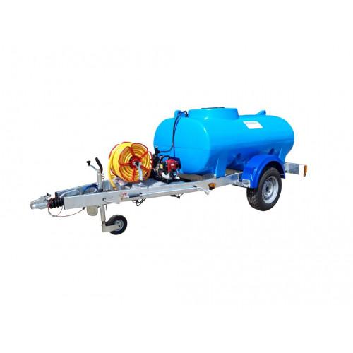 "Trailer Watering Unit- Highway Tow, 1"" Water Pump, 1200 litre"