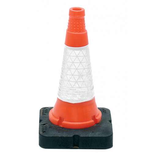 """Thermoplastic Road Cone 18""""/450mm Product Image- Landscape Supply Company"""