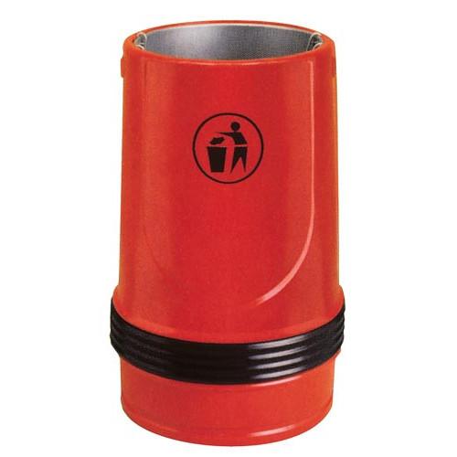 Falcon Litter Bin- Black Product Image- Landscape Supply Company