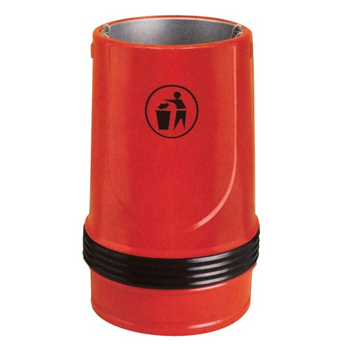 Falcon Litter Bin- Black Product Image- Landscape Supply Company