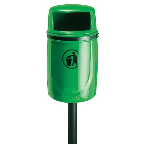Osprey Litter Bin, Burgundy Product Image- Landscape Supply Company