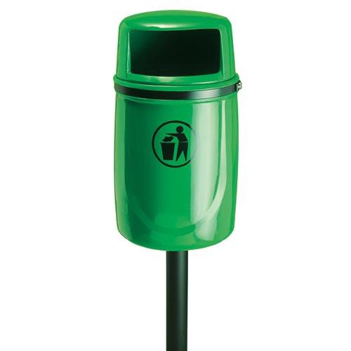 Osprey Litter Bin, Burgundy Product Image- Landscape Supply Company