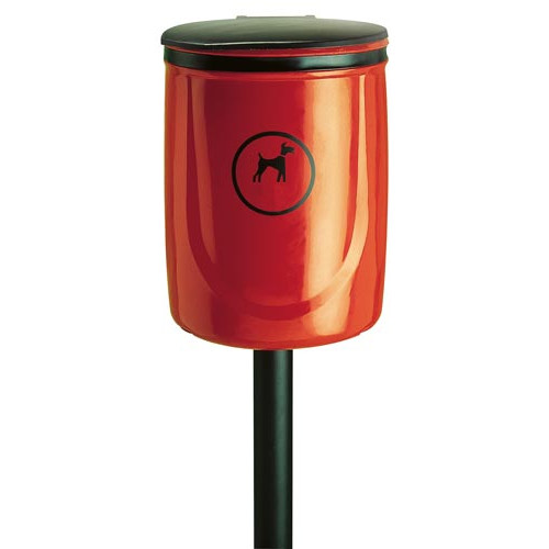 Doggy Bin, Burgundy Product Image- Landscape Supply Company