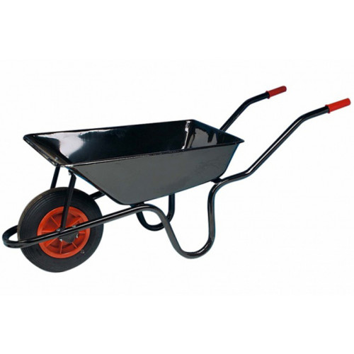 Navvy Barrow with Puncture FreeTyre 3 cu.ft Product Image- Landscape Supply Company
