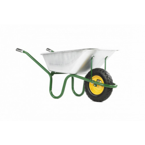 Hæmmerlin GALV Barrow with Puncture Free Tyre 4cu.ft Product Image- Landscape Supply Company
