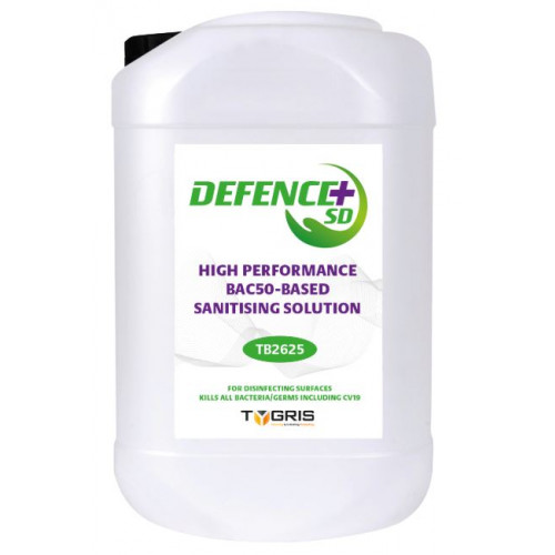 High Performance BAC50-Based Sanitising Solution 25 litre