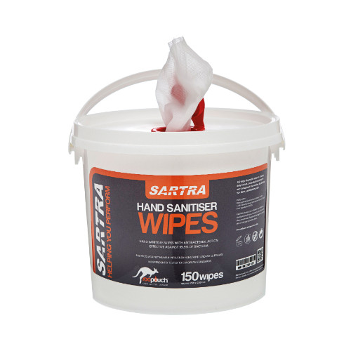 Sartra® Hand Cleaning Wipes (150)