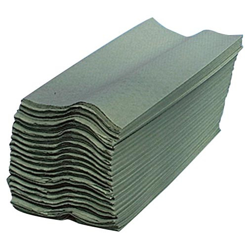 C-Fold Hand Towels - Green Product Image- Landscape Supply Company