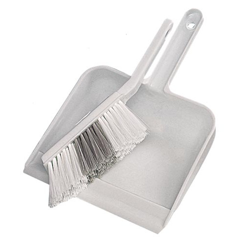 Plastic Dustpan and Brush Set Product Image- Landscape Supply Company