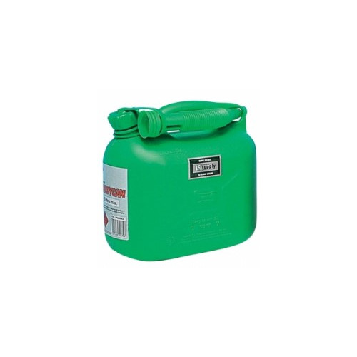 Plastic Fuel Can - Green 5 litre Product Image- Landscape Supply Company
