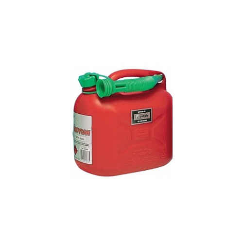 Plastic Fuel Can - Red 5 litre Product Image- Landscape Supply Company
