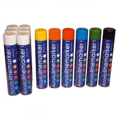 Aerosol Line Marking Paint - Orange  PACKS OF 12 Product Image- Landscape Supply Company