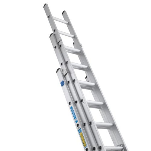 Aluminium 3 Section Ladder, 14 rung   Product Image- Landscape Supply Company