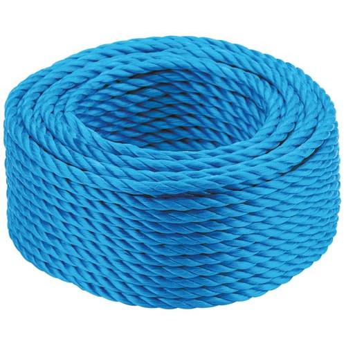Blue Polypropylene Rope - 220m 6mm Product Image- Landscape Supply Company