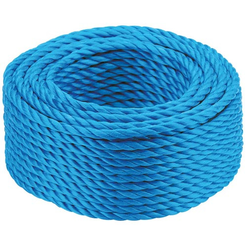 Blue Polypropylene Rope - 220m 6mm Product Image- Landscape Supply Company