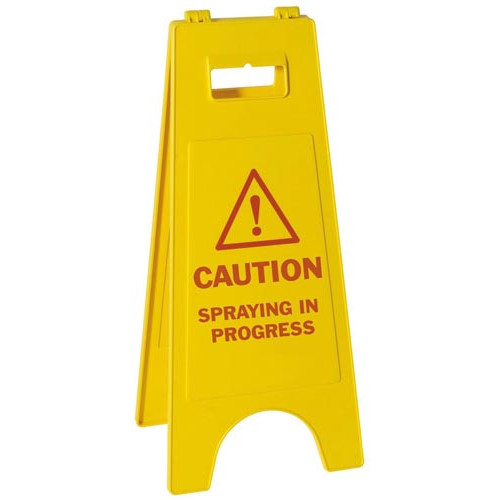 Spraying Sign Product Image- Landscape Supply Company