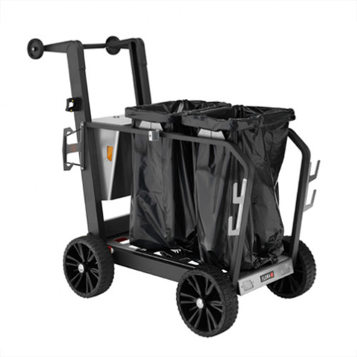Street Cleaning Trolley- Double