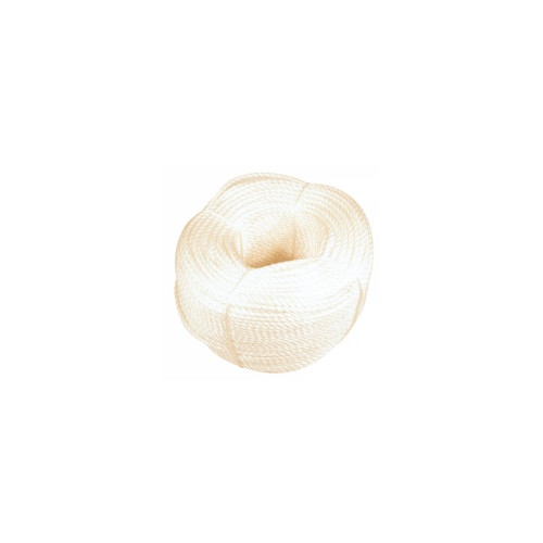 White Polypropylene Rope - 220m 10mm Product Image- Landscape Supply Company