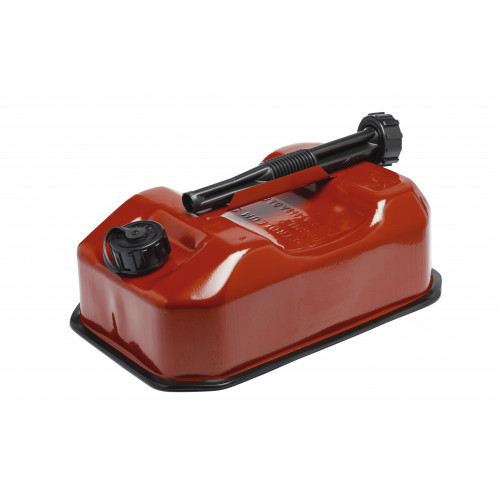 Steel Fuel Can 5ltr- Red Product Image- Landscape Supply Company