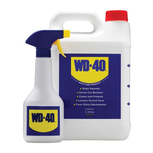 WD40 Lubricant 5ltr c/w trigger spray Product Image- Landscape Supply Company
