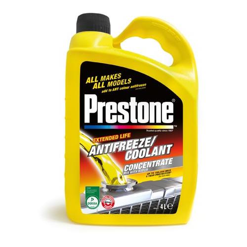 Prestone Anti-freeze/ coolant 4 litre Product Image- Landscape Supply Company