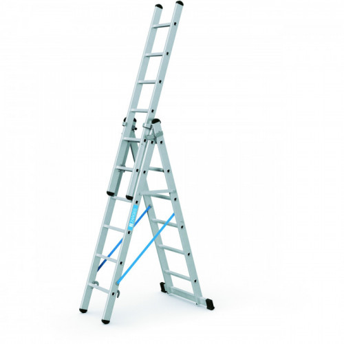 Zarges® Combination Ladder 3 x 9 Tread