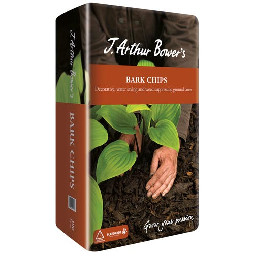 J Arthur Bower's Bark Chips (Decorative) 100 litre Product Image- Landscape Supply Company