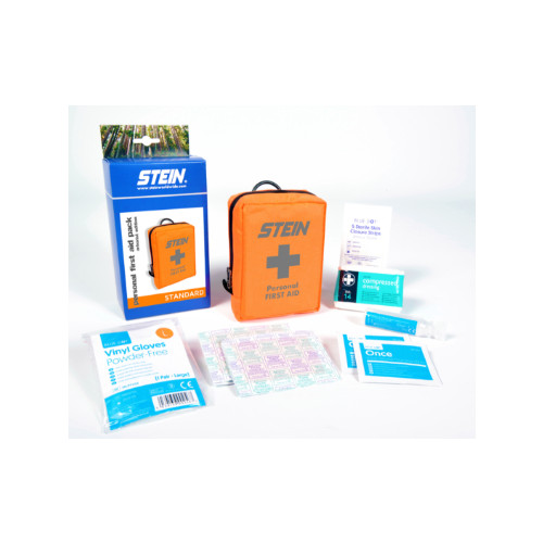 Hi-Viz Forestry/ Aborist Harness Mounted First Aid Kit- 1 Person
